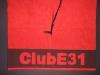 """Strandtuch """"ClubE31"""" (rt/sw; 100x180cm; 550g/qm)"""